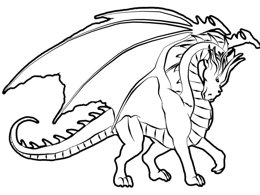 universul copiilor: Imagini de colorat dragoni