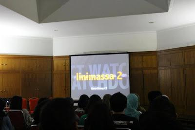 Suasana menonton film Linimassa 2. (Foto: Dok. MKAA)