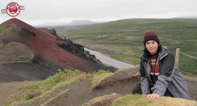 Rauðhólar, Vesturdalur, Islandia