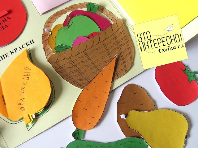 знакомство детей с Осенью с помощью лэпбука