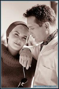 Fotografía: Paul Newman y Joanne Woodward