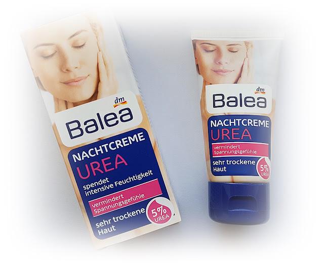 Balea Urea - krem na noc dla bardzo suchej skóry