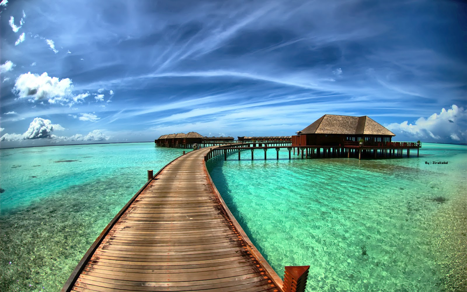 Cute Animated Wallpapers For Android Tropical Lagoon Wallpapers Desktop Wallpapers