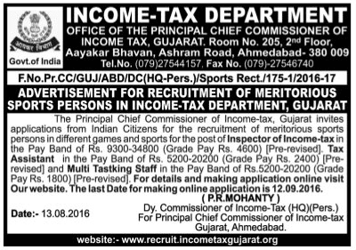 income tax jobs