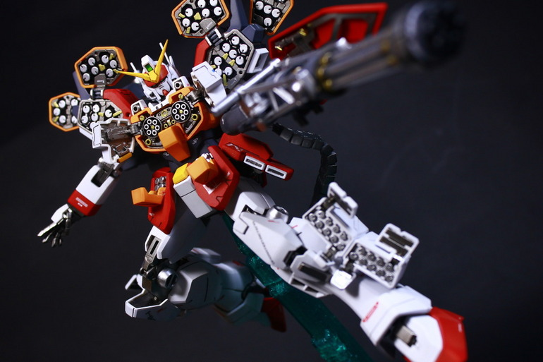 Painted Build: MG 1/100 Gundam Heavy Arms EW - Gundam Kits ...
