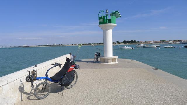 De Paris à la Rochelle en vélo couché, Ile de Ré, Rivedoux
