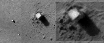 Structures on the Moon.