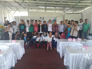 Jelang Pencoblosan, Pemuda Lombok Utara Rapatkan Barisan Menangkan Jokow-Amin