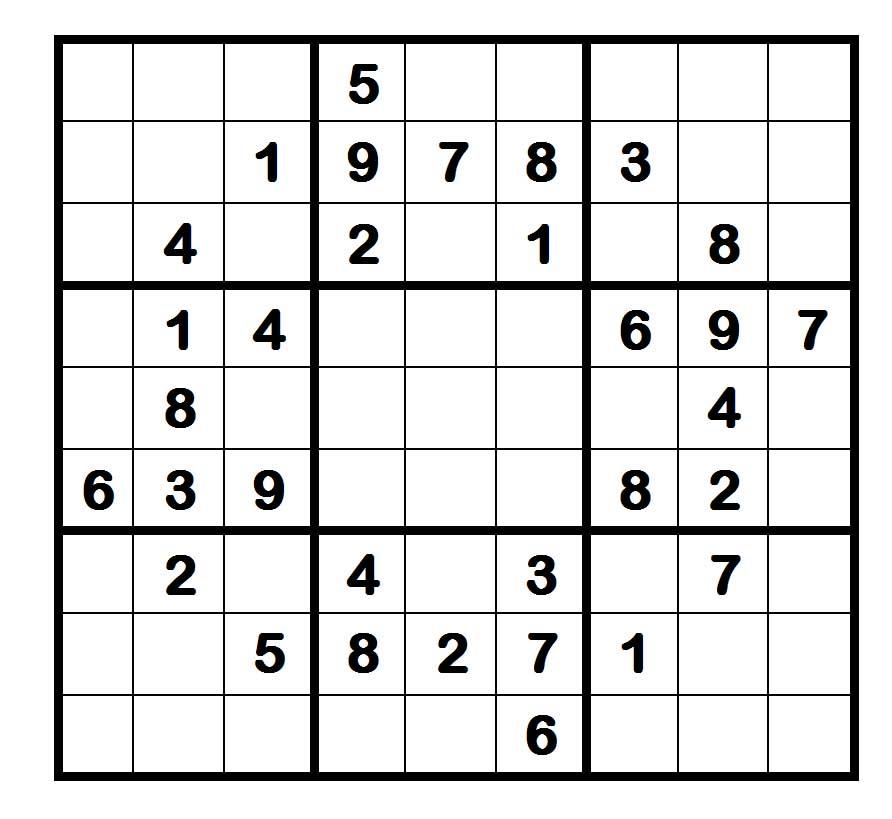 Multimediapecetto una scorpacciata di numeri for Sudoku facile da stampare