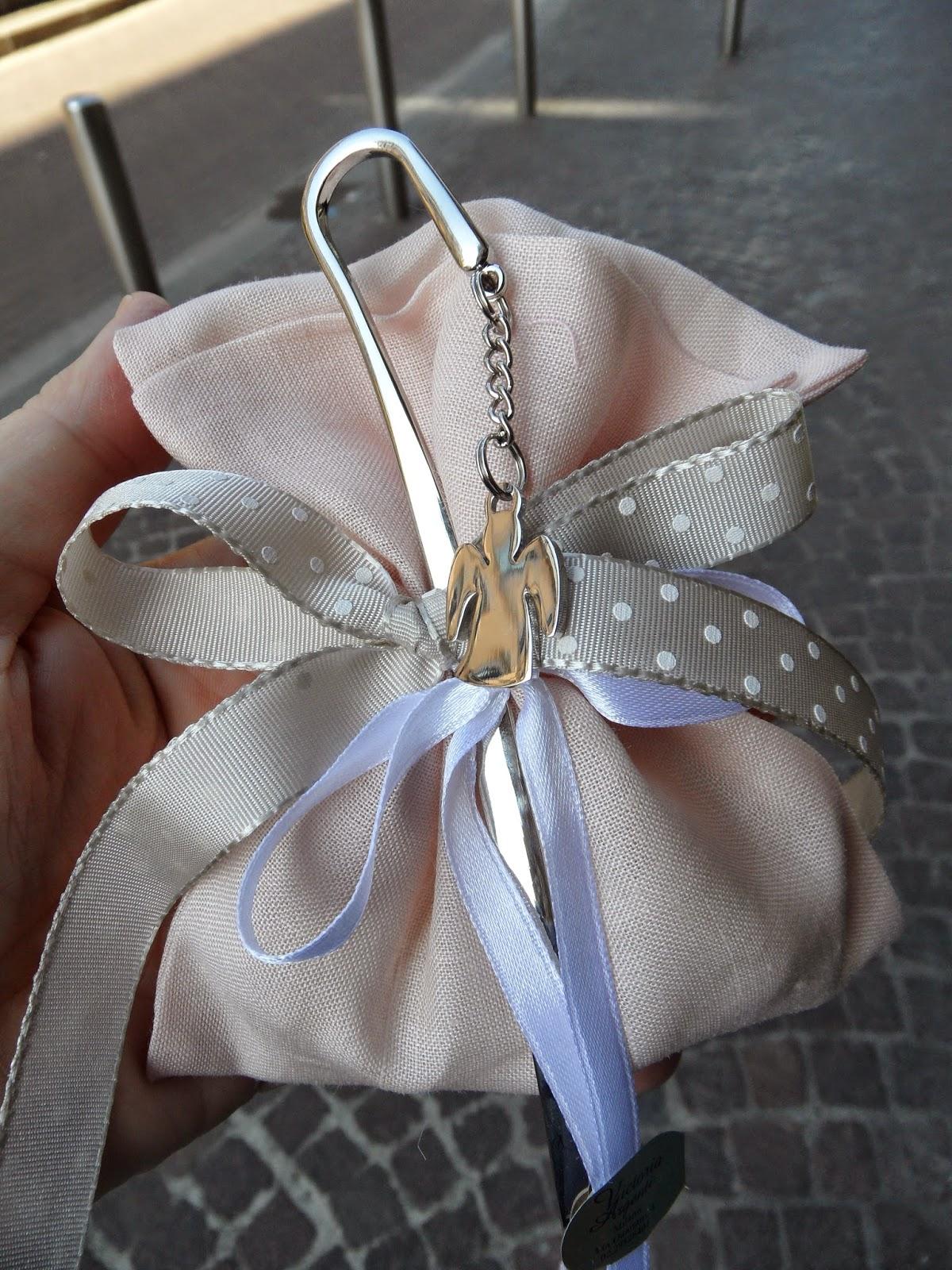 Favorito Bomboniere per Amore: Idee Comunione Bimba Sacchetto lino color  AX91