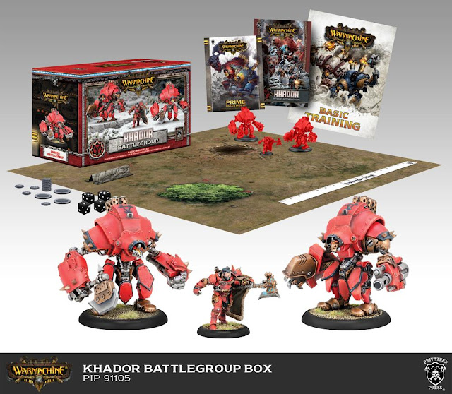 Warmachine mk3 Khador Battlegroup Box