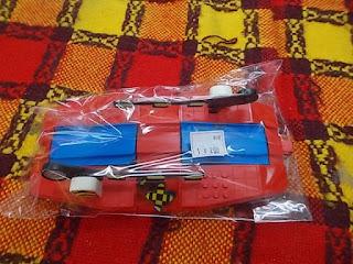 中古品プラレール赤の踏切290円