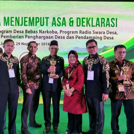 Tugu Mulyo Menjadi Desa Terbaik Se-Sumatera Selatan