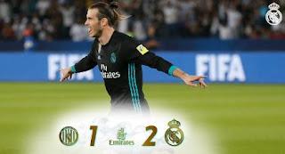 Al-Jazira vs Real Madrid 1-2 Semifinal Piala Dunia Antarklub