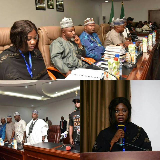 Actress Mercy Johnson hosts first Stakeholders Summit as SSA to Kogi Governor
