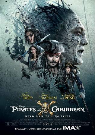 Pirates Of The Caribbean Dead Men Tell No Tales 2017 HDRip 400Mb Hindi Dual Audio 480p Watch Online Full Movie Download bolly4u