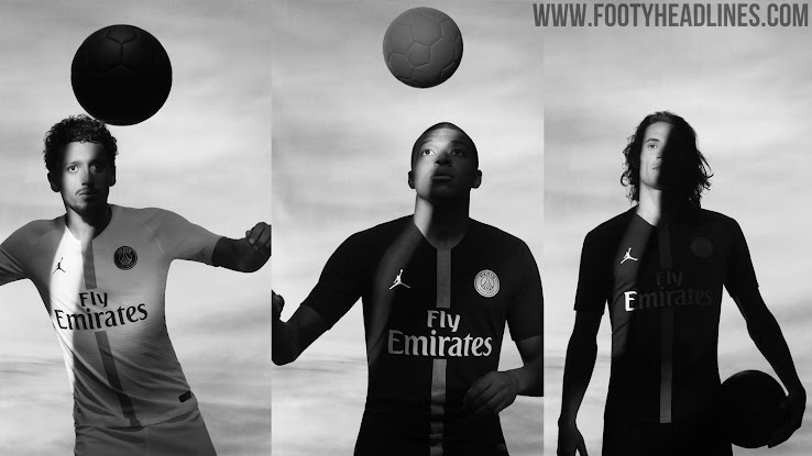 Jordan PSG 18-19 Champions League Kits Released - Footy Headlines