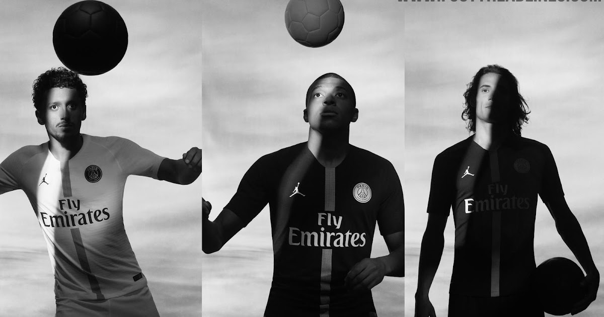 Jordan PSG 18-19 Champions League Kits Released - Footy Headlines bc90a9a65