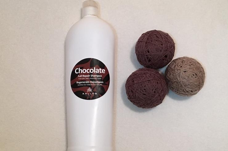KALLOS | Regenerujący szampon czekoladowy