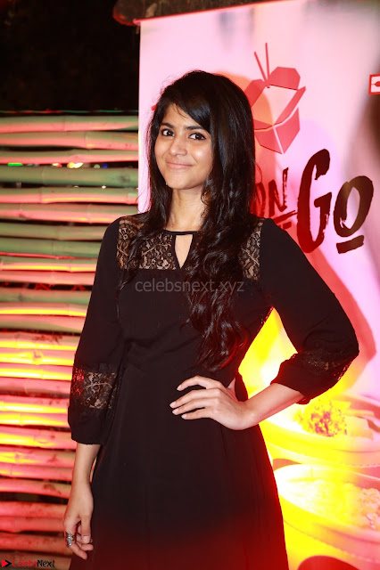Megha Akash at The launch of The Red Box   Soups and Momos March 2017 005.JPG
