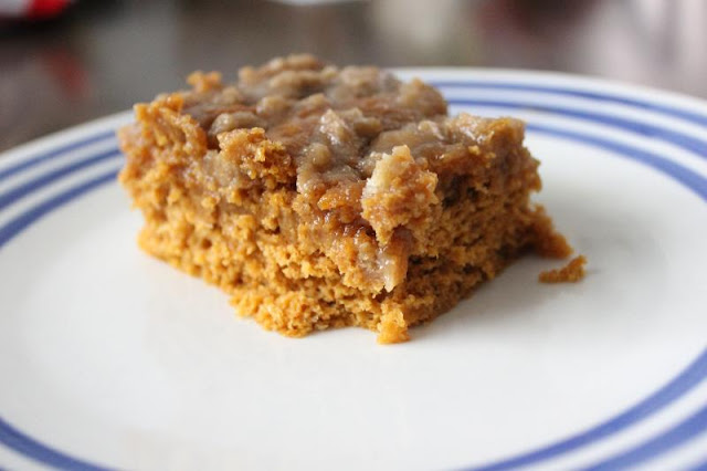 Pumpkin Coffee Cake by freshfromthe.com