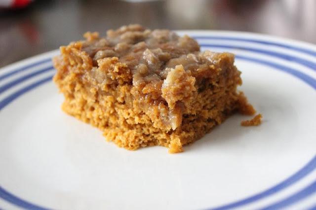 Pumpkin Coffee Cake by freshfromthe.com