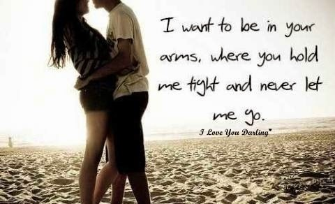 Romantic Couple Images With Quotes I Love You Darling