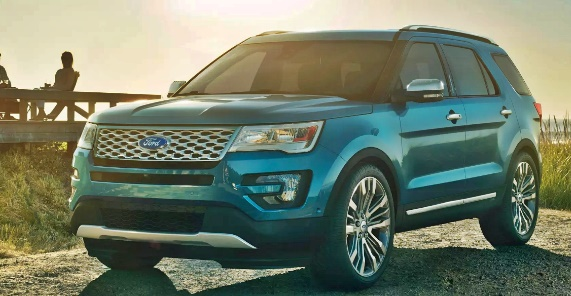 2019 Ford Explorer Spotted & Prototype