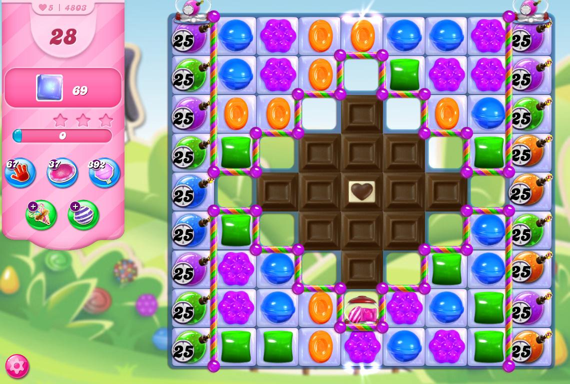 Candy Crush Saga level 4803