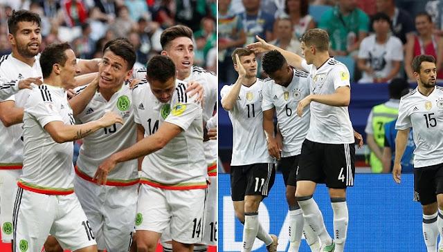 Alemania vs Mexico en vivo