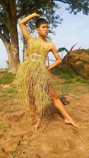tutu skirt, menakjubkan, jimat kos, rumput