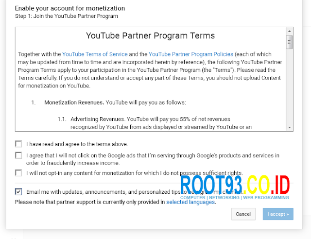 monetize iklan youtube 3