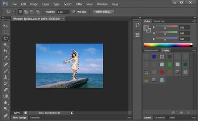 How To-Eliminate-Object-Photo-With-Photoshop
