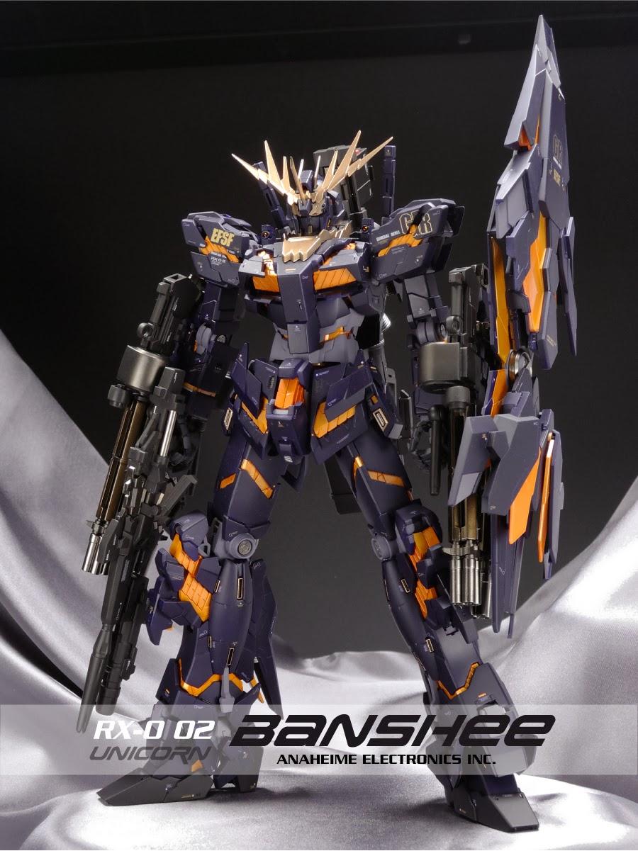 Gundam Guy Mg 1 100 Unicorn Gundam 02 Banshee Armed Armor De