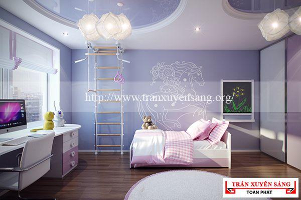 Mẫu trần phòng ngủ xuyên sáng 5
