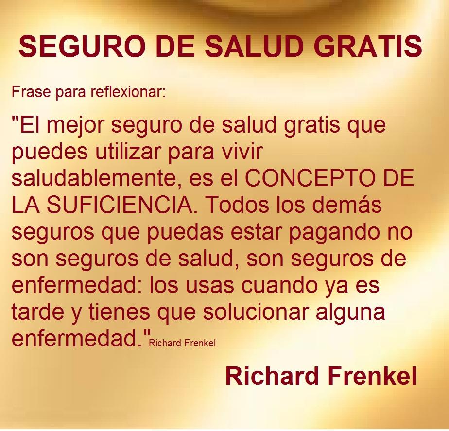 Richard Frenkel Seguro De Salud Gratis