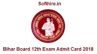 Bihar Board 12th Exam Admit Card