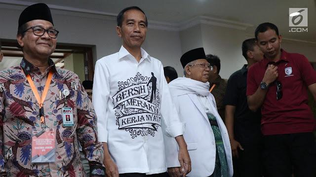 Kemeja Unik Jokowi Saat Daftar KPU Bakal Jadi Brand Kampanye