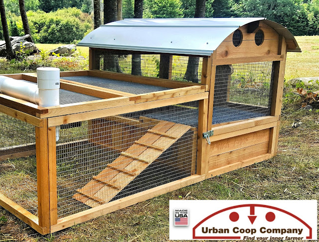 introducing the urban coop company round top duck house