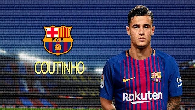 Resmi : Barcelona Akhirnya Dapatkan Coutinho Dengan Kontrak Lima Setengah Tahun