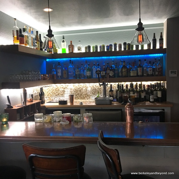 bar at Park Place in Lakeport, California