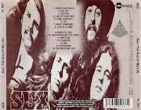 Sex - The End Of My Life LP (1971)