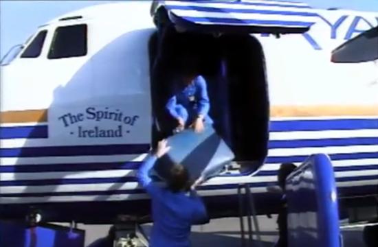 Ryanair, secound route departure 1986