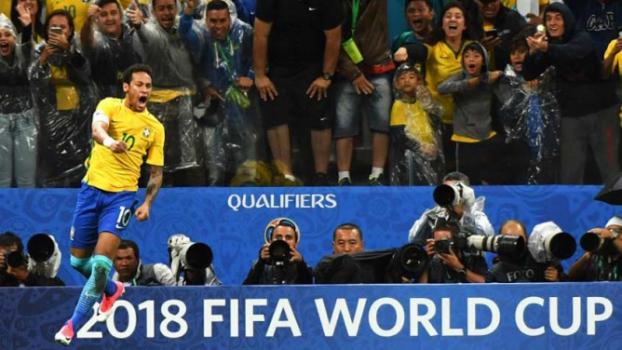 Brasil é o primeiro classificado para a Copa do Mundo de 2018
