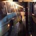 Colisão entre ônibus na avenida Bernardo Vieira próximo à linha férrea