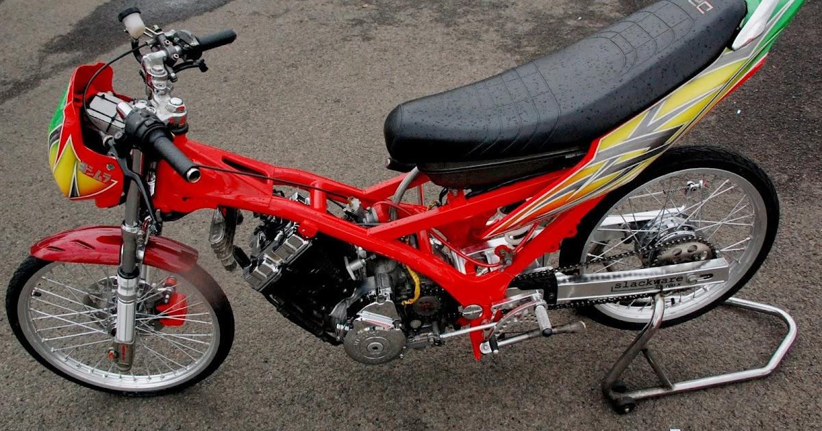 Kumpulan Foto Modifikasi Motor Shogun Terbaru Modispik Motor