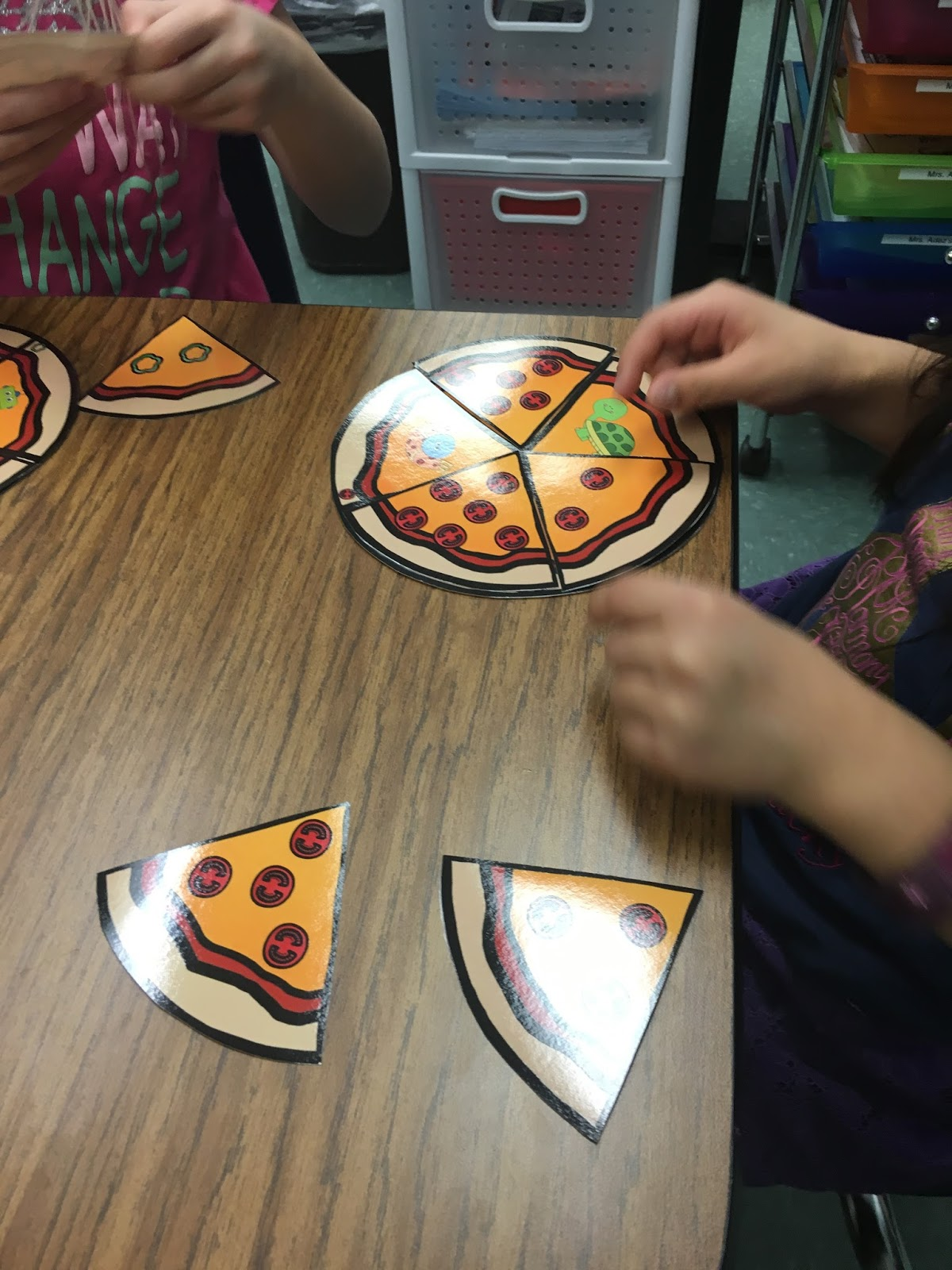 Mrs Adez S Kindergarten Segmenting Amp Counting Phonemes Pizza Toppings