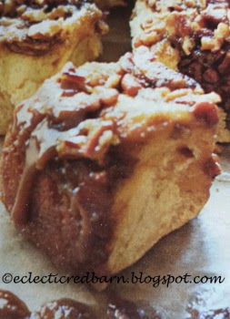 Eclectic Red Barn: Easiest Sticky Buns