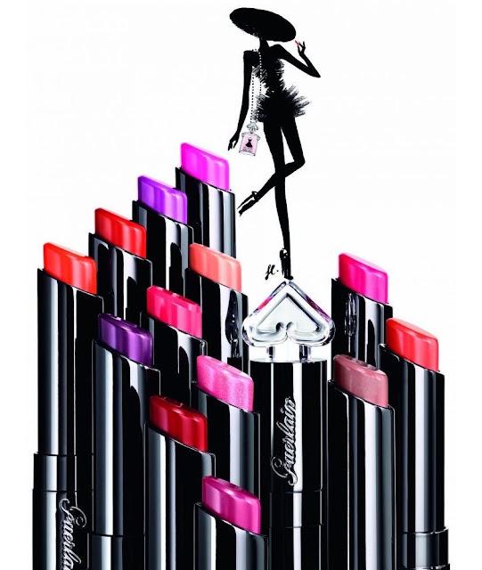Nouveau rouge à lèvres La Petite Robe Noire - Guerlain - Blog beauté Les Mousquetettes