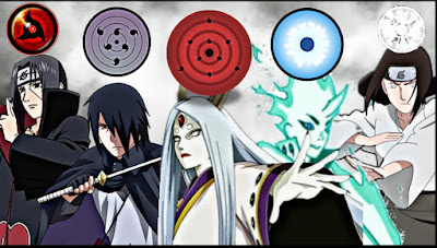 Daftar Lengkap Jenis Kekuatan Mata Dalam Naruto